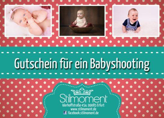 Gutschein Babyshooting Erfurt