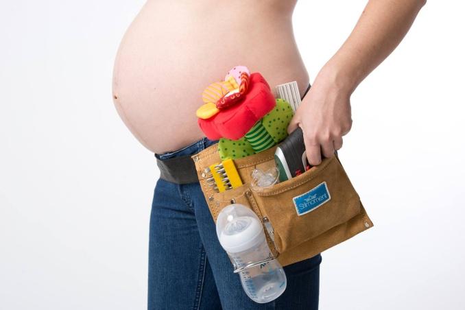 Kreative Schwangerschaftsfotos